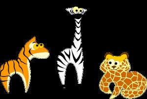 rare dieren tekening