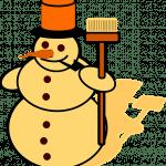 Dag meneer de sneeuwman
