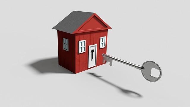 sleutel huis slot