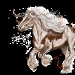 Paardje op een draf (versie 1)