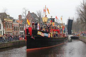 Stoomboot Sinterklaas Piet