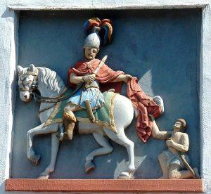 Sint Maarten Tours gevelsteen