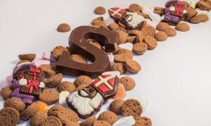 strooigoed sinterklaas pepernoot chocoladeletter