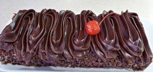 chocoladeschnitte taart chocolade