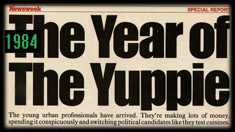 yuppie year jaren 80