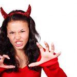 duivel haarband halloween