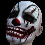 griezelig clown schmink halloween