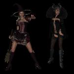 kostuum heks koningin halloween