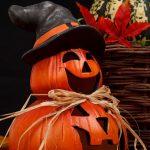 pompoenen heks pop halloween