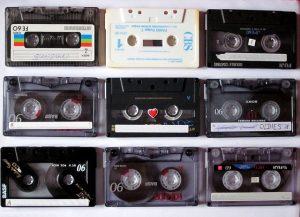 cassettebandjes muziek