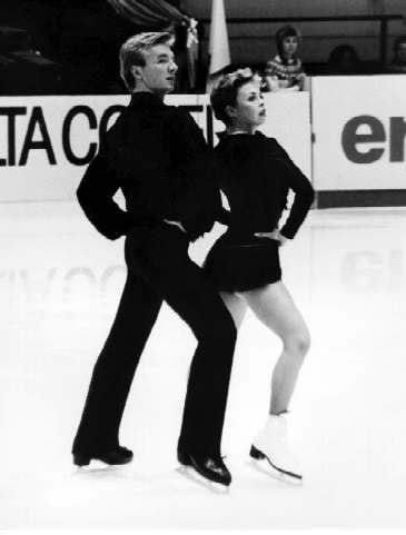 winter schaatsen ijsdansen Jane Thorvill en Christopher Dean
