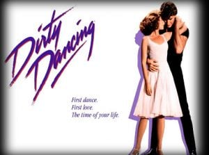 Dirty dancing Jennifer Grey Patrick Swazy jaren 80