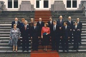 Kabinet-Lubbers III foto rijksoverheid