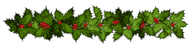 hulstblaadjes kerst pixabay