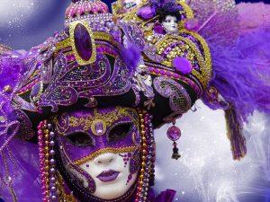 carnaval masker verkleden