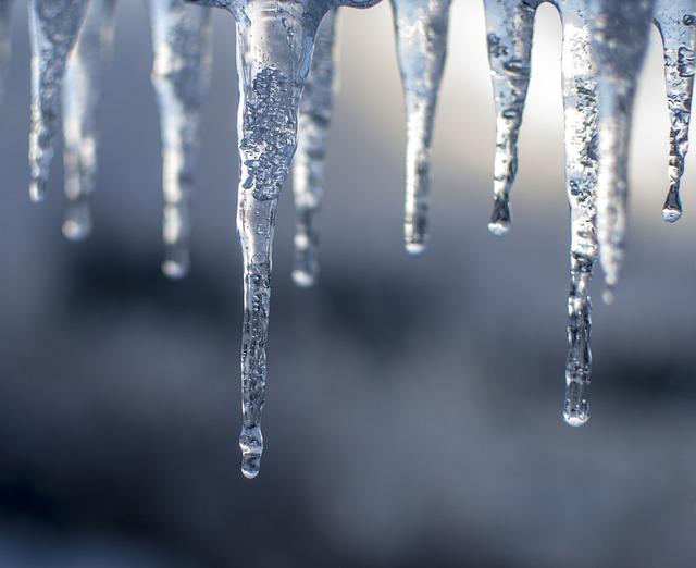 ijspegel winter ijs
