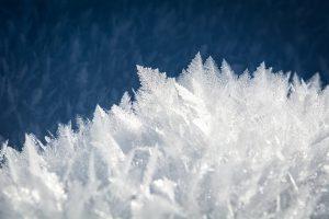 ijskristallen winter