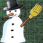 Sneeuwman heet die witte pop
