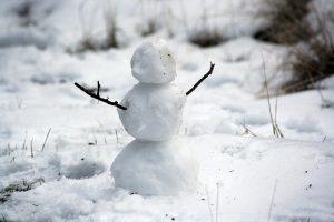 winter sneeuwpop