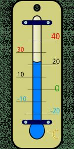 temperatuur warm koud thermometer pixabay