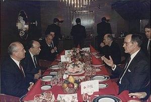 malta topontmoeting Bush Gorbatsjov