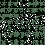 Paardje op een draf (versie 2)