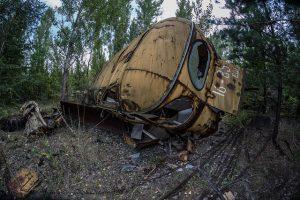 trein Tsjernobyl