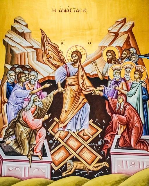 wederopstanding Jezus tekening