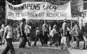 Anti-kernwapen demonstratie