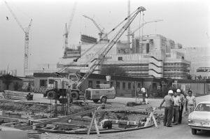 Kerncentrale Kalkar aanbouw