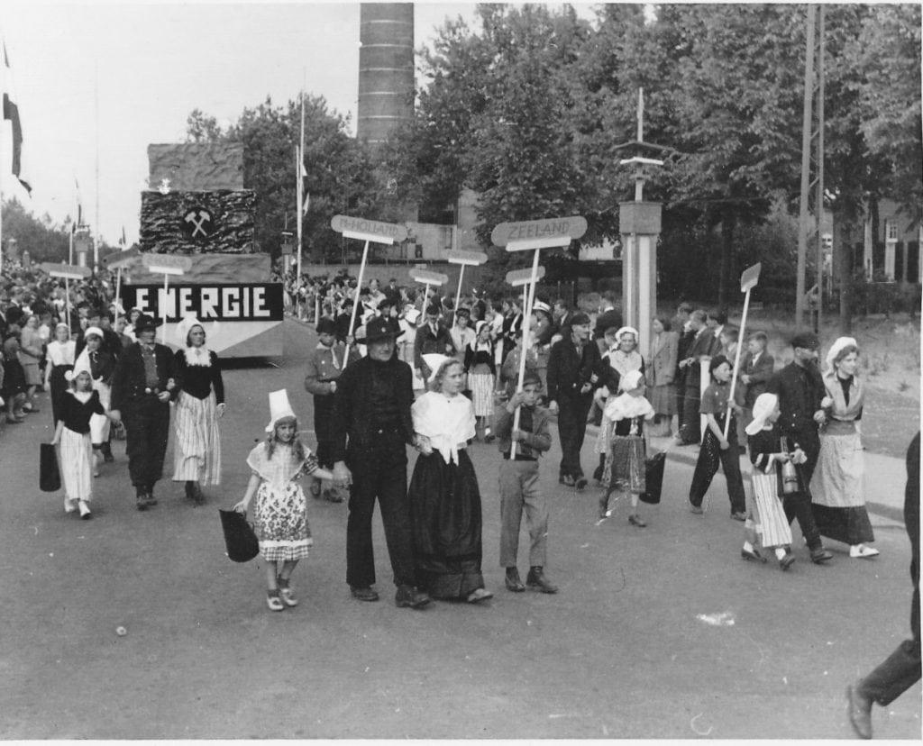 Mijn Staatsmijn Emma Treebeek-Hoensbroek 1952
