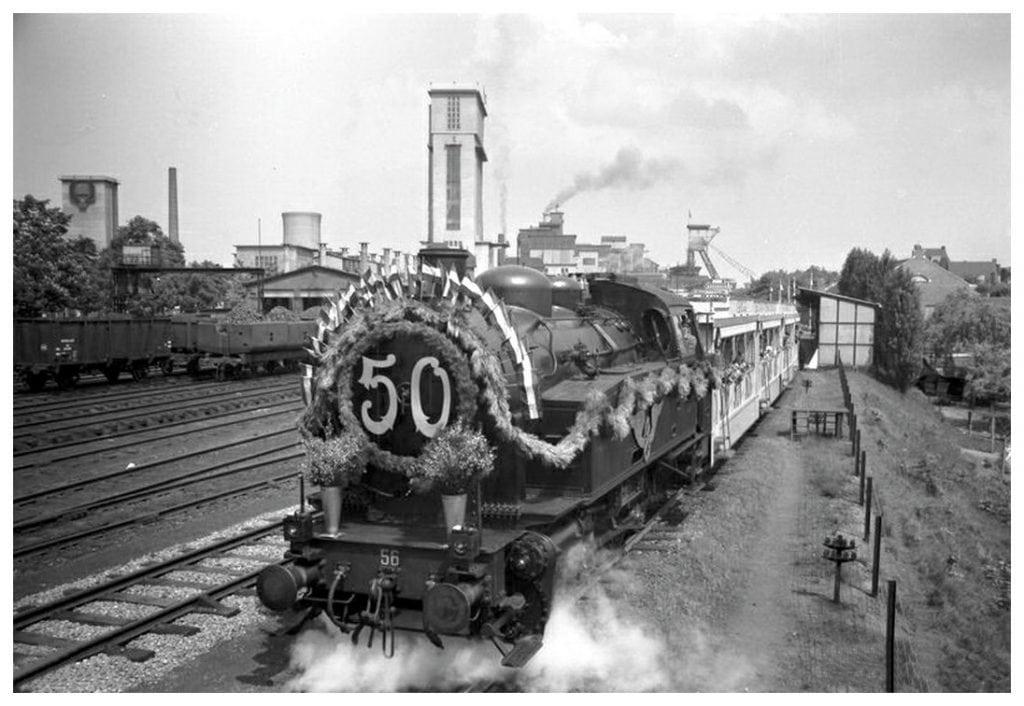 Staatsmijn Emma trein jubileum