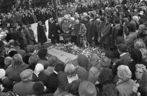 Begrafenis Wim Sonneveld