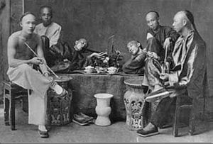 Chinese opiumgebruikers
