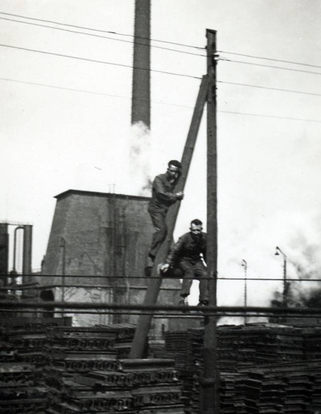 Cokesfabriek Staatsmijn Emma Foto: ouders Annemiek Wolthuis-Regtering