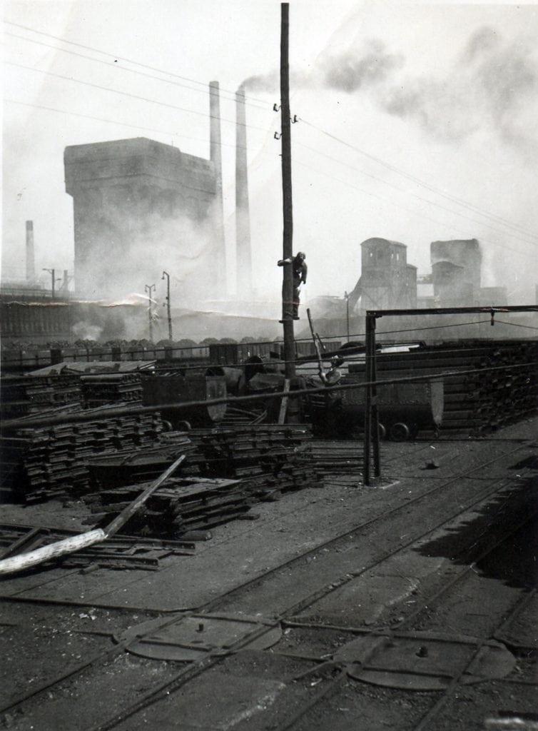 Cokesfabriek mijn Emma Foto: ouders Annemiek Wolthuis-Regtering