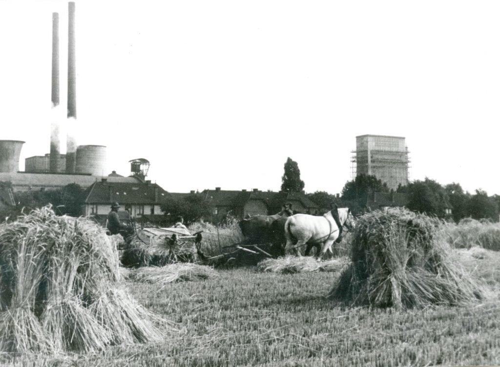 Staatsmijn Emma landbouwgrond boer Foto Heemkundevereniging Brunssum