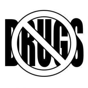 No drugs verboden