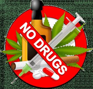 geen drugs