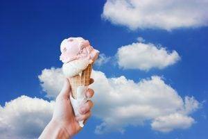 hand ijsje