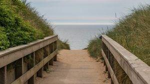 strandopgang strand zee