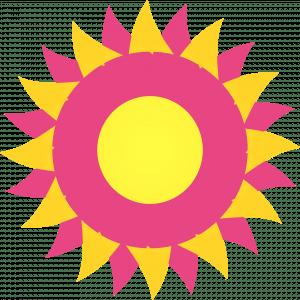 zon pixabay roze
