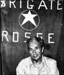 Brigate Rosse ontvoering Aldo Moro