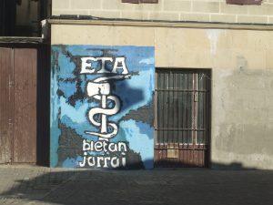 ETA logo graffiti