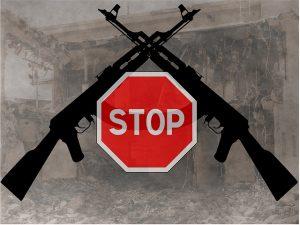 wapens stop