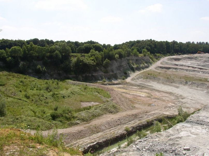 Steengroeve Winterswijk afgraving achterhoek