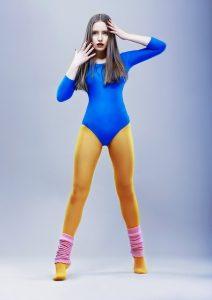 jaren 80 legging beenwarmers