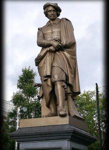 Rembrandt standbeeld Amsterdam