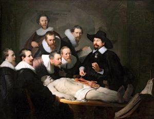 Rembrandt anatomische les