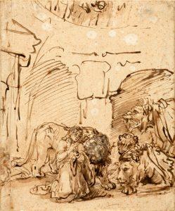 Rembrandt Daniel leeuwenkuil